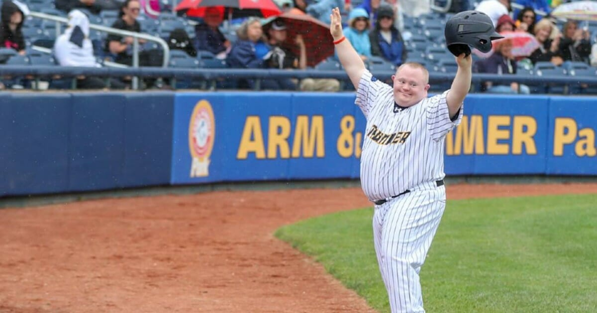 Beloved bat boy with special needs honored with his own bobble head during Minor League Baseball game