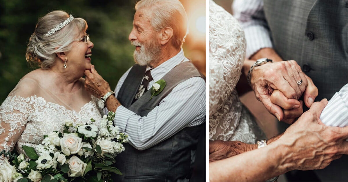 Heartwarming photo shoot: Grandparents celebrate 60th anniversary with adorable pictures