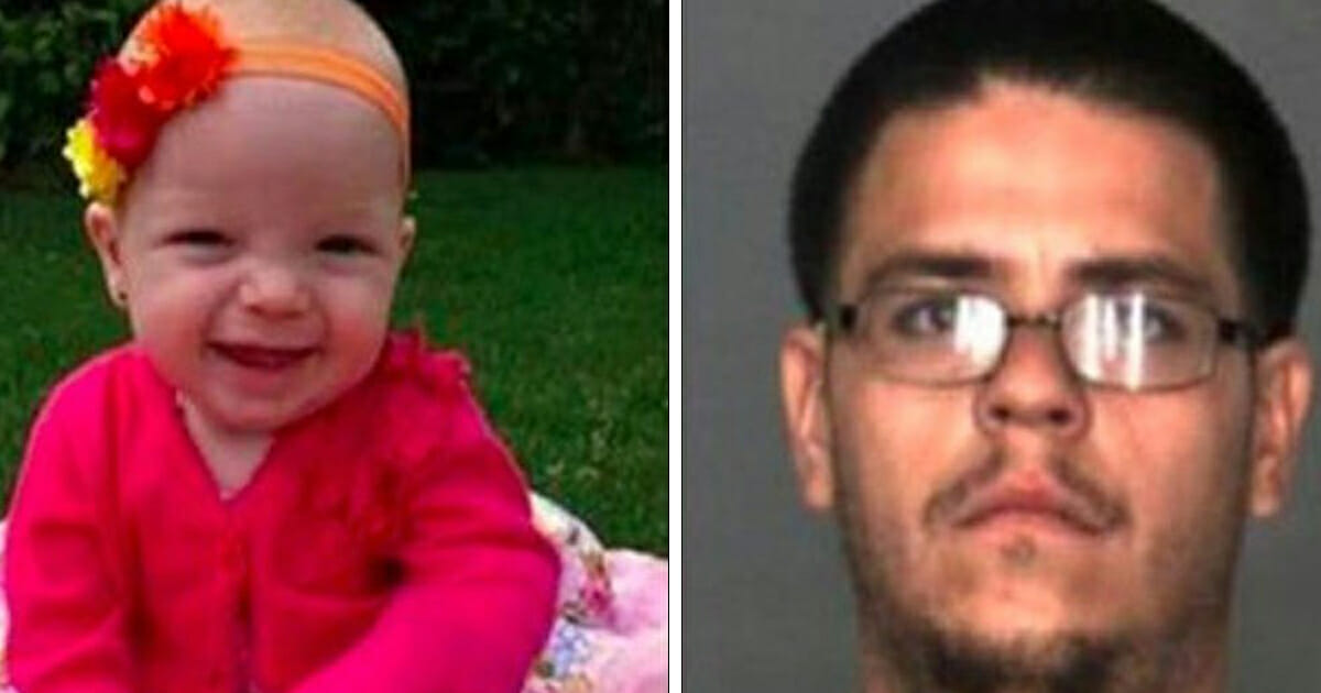 """Man who crushed 1-year-old baby to death said he """"felt better"""" after stepping on her"""