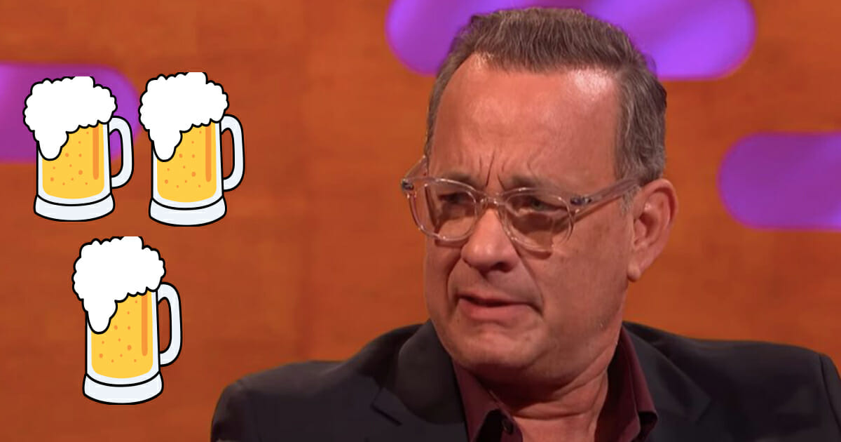 Staff at music festival refuse to serve 62-year-old Tom Hanks beer because he didn't have ID