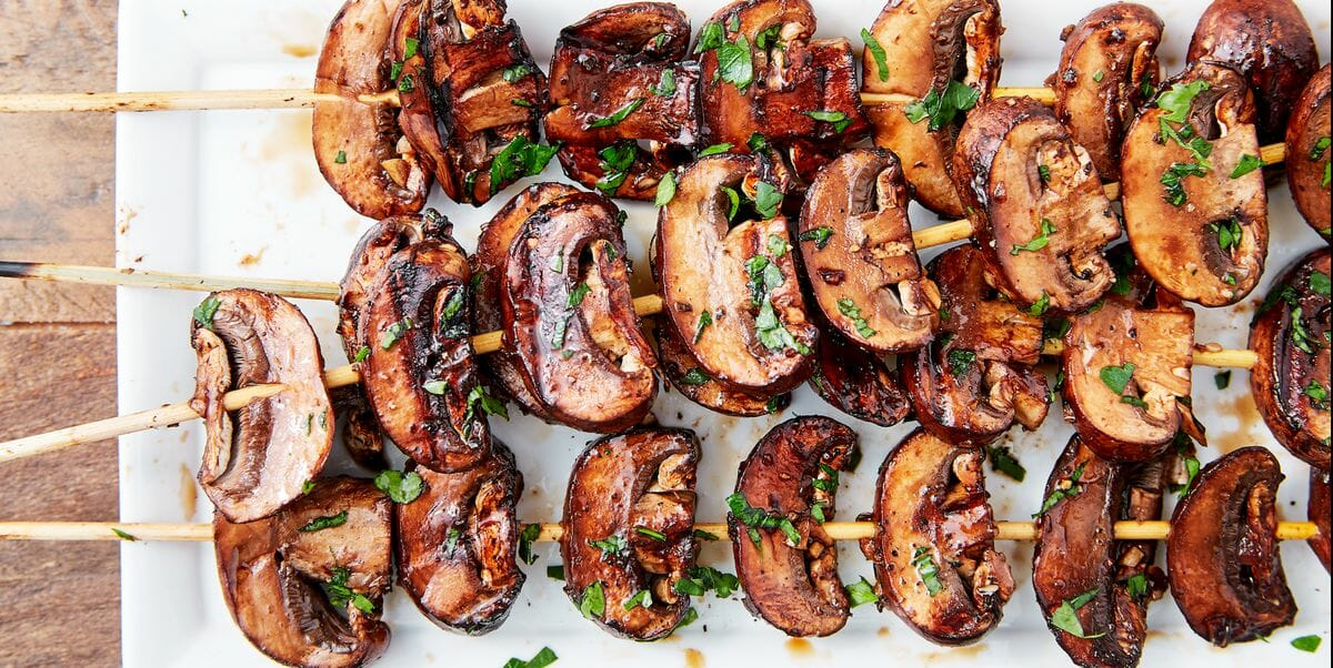 This Balsamic mushroom recipe is so good that once you've grilled them, you'll never look back