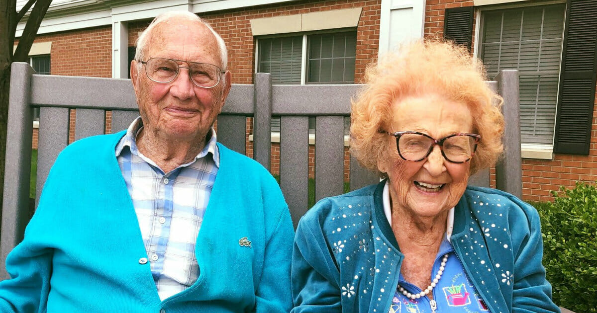 100 and 102-year-old couple falls in love in nursing home, ties the knot