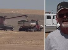 ACT OF KINDNESS: 60 farmers harvest 1,200-acre farm for neighbor with stage 4 cancer