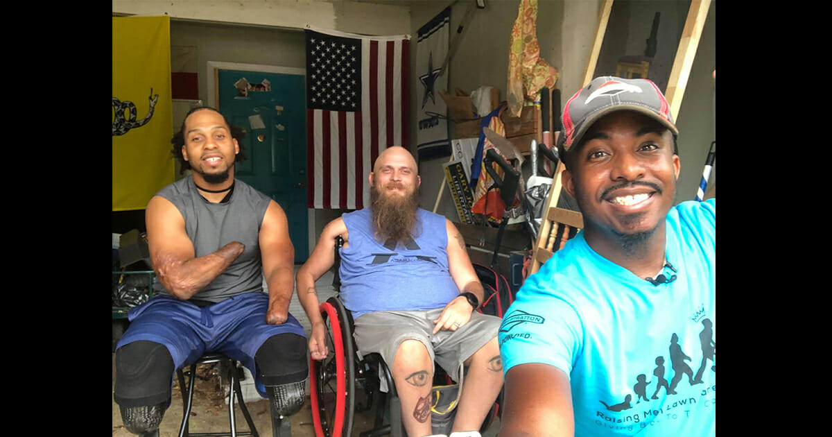 Alabama man finishes mowing lawns for U.S. veterans in all 50 states