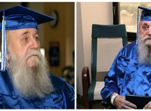 He left high school to fight in Vietnam—now this 78-year-old vet finally gets his diploma