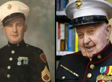 Marine veteran who fought at Iwo Jima & Chosin Resevoir turns 100 – let's wish him Happy Birthday