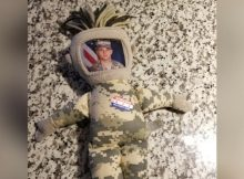 Ohio military family needs help finding toddler's lost 'daddy doll' – have you seen it?