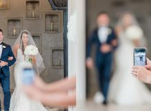 Photographer has stern message for guests who take photos during wedding ceremonies