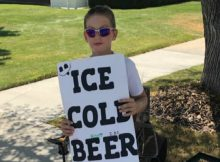"""Police are called on boy selling """"ice cold beer"""""""