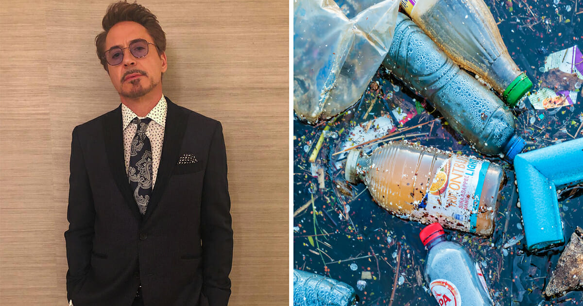 Robert Downey Jr. is on a mission to clean up Earth in 10 years, proves he's the real-life Iron Man