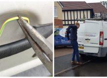 Electrician rigs van with 1,000-volt zapper to get back at burglars