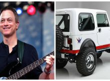 Gary Sinise raises $1.3 million for his veterans foundation by auctioning custom Jeep—let's thank him