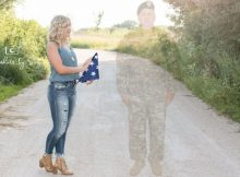 Teen honors father killed in Afghanistan with touching senior pictures
