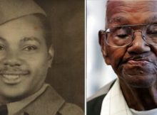 America's oldest living WWII veteran celebrates 110th birthday – let's hear it for him