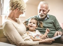 Children who grow up with grandparents are secure, happier, and less likely to get depressed