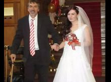 Dad with MS re-learns how to walk with ground-breaking technology – takes daughter down the aisle