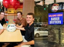 Father's photos of weekly trips for ice cream with sons prompt sweet response from Dairy Queen