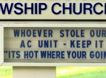 Pastor wants thief who stole $3,500 air conditioner to keep it – 'It's hot where you're going'