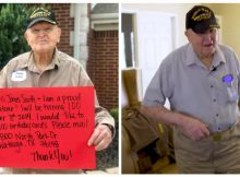 WWII veteran asks for 100 cards for his 100th birthday — let's make it happen