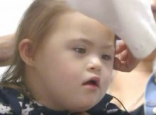 2-year-old cancer survivor with Down syndrome hears for first time
