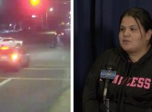 Car crashes into suspected drunk driver and unintentionally saves a family's life