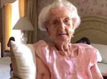 Happy Birthday, Ruth! One of the last living female WWII veterans celebrates a milestone birthday