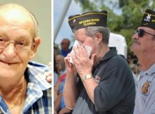 It's estimated that thousands of people attended the funeral of Army veteran with no family
