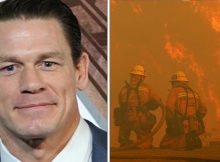 John Cena donates $500,000 to California firefighters battling wildfires – let's hear it for him