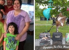 Mom posts photo of her 3 children's graves for 'first day at school' after they're killed by drunk driver