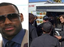 NBA star LeBron James sends taco truck to feed firefighters battling wildfires in California