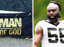 NFL player won't have to pay $7,000 fine for wearing 'Man of God' headband
