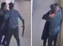 School football coach disarms student gunman and then hugs him in new footage