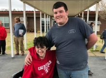 Teen saves money from part-time job for two years to buy his friend a new wheelchair