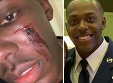 Two black gay U.S. soldiers attacked and beaten up by 10 men in nightclub