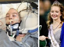 14-year-old girl shot in the head by her classmates crowned homecoming queen while they're in prison