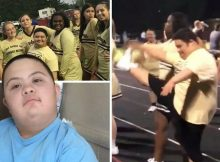 17-year-old cheerleader with Down syndrome banned from squad because he didn't fit their 'image'