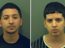 Brothers arrested following video showing two men firing handguns while driving