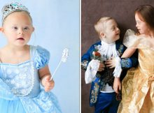 Children with Down syndrome post as Disney characters to celebrate all forms of beauty