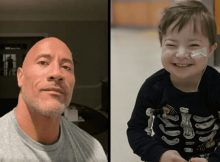 Dwayne Johnson sings Moana song for 3-year-old with Down syndrome fighting for his life