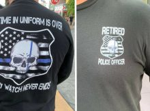 Former police officer denied entry at Universal Studios because his shirt said 'retired police officer'