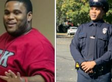 Man loses 176 lbs in order to become police officer – he just graduated from his recruit class