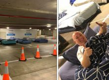 Parking lot is turned into safe haven for homeless people at night, with great results