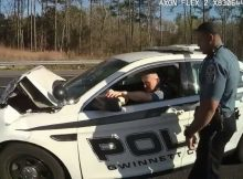 Police officer was watching YouTube when he crashed into back of car