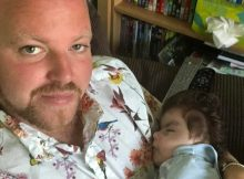 Single super dad of five left heartbroken by sudden death of son, 2, he adopted
