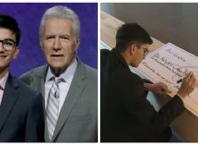 Teen 'Jeopardy!' champion donates $10,000 to cancer research in honor of Alex Trebek