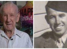 World War II veteran celebrates his 100th birthday — Happy birthday, Clarence!