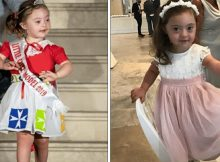 4-year-old with Down syndrome melts hearts as she walks the ramp at fashion show