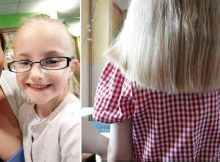 5-year-old girl's hair gets shorter every day before she manages to tell her mom what's going on at school