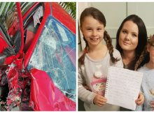 8-year-old writes an important letter to the drunk driver who nearly killed her mom