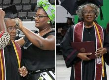 80-year-old makes history as university's oldest college graduate, has no plans to slow down